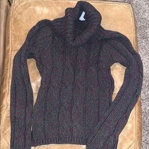 Vintage 100% cotton turtle neck sweater size small